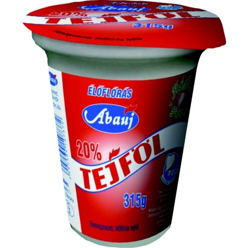 Abaúj Tejföl 20% 315g