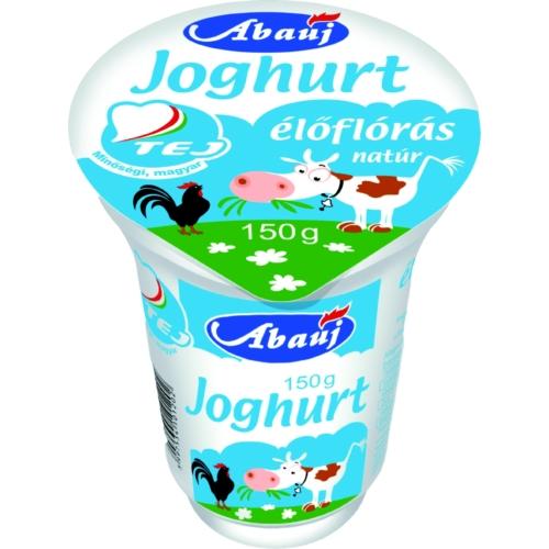 Abaúj Natúr joghurt 150g