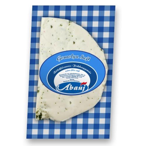 Abaúj Darabolt zöldfűszeres-fokhagymás sajt 15-30 dkg