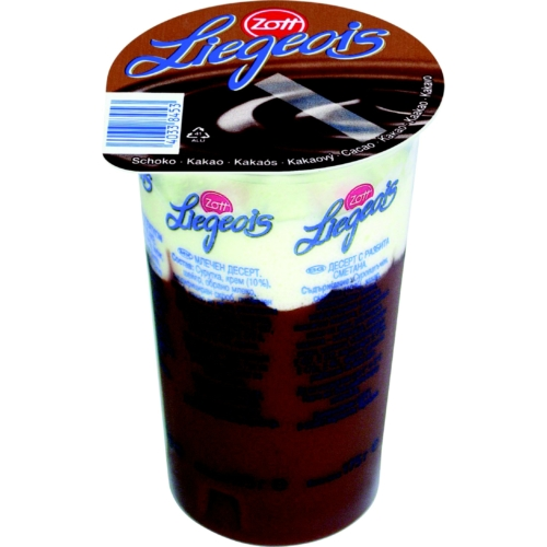 Zott Liegeois csokis habos puding 175 g