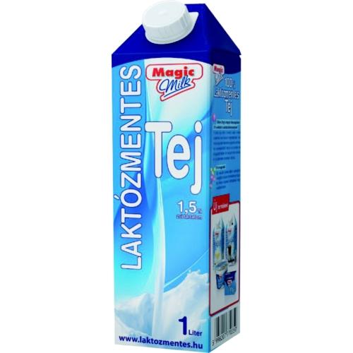 Laktózmentes tej UHT 1,5% 1 l