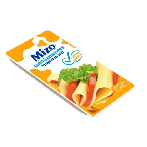 Mizo laktózmentes szeletelt trappista sajt 125g