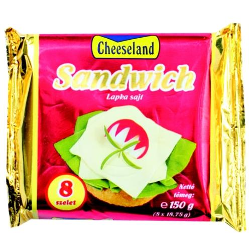 Lapka sajt 150g Cheeseland Sandwich