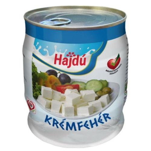 Hajdú Krémfehér hordós sajt 0,5 kg