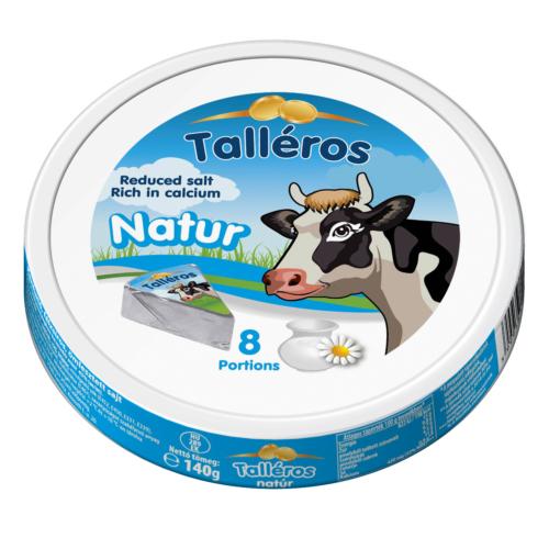 Kőrösi talléros natúr sajt 140g 8 cikkes