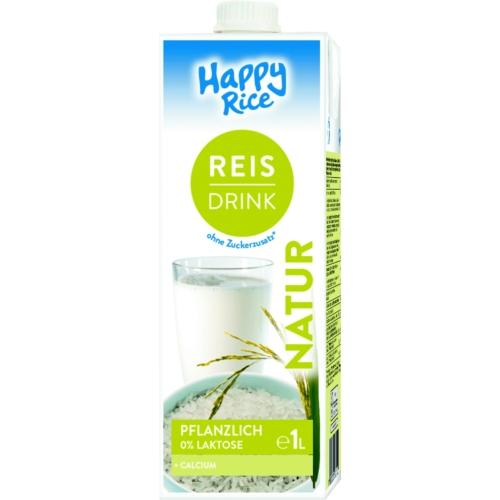 Happy Rice Rizsital kalciummal UHT 1l