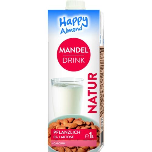Happy Mandulaital kalciummal 1l  (10 db)