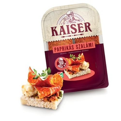 Kaiser paprikás szalámi 75g