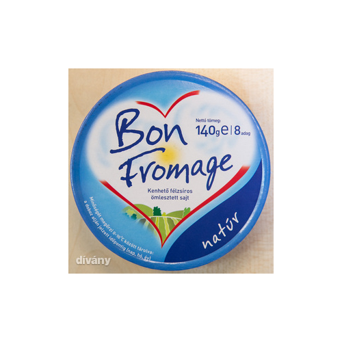 Bon Fromage natúr dob. sajt  140g 8 cikkes