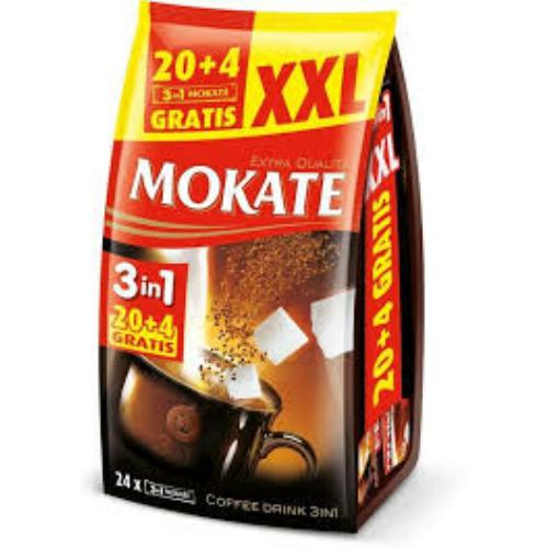 MOKATE 3in1 kávé 20+4
