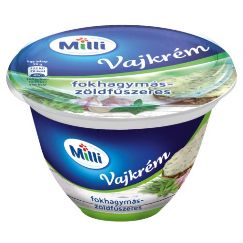 Milli vajkrém zöldfűszeres 200g