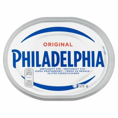 Philadelphia sajtos szendvicskrém original 125g
