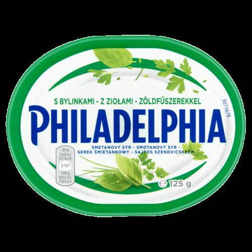 Philadelphia sajtos szendvicskrém zöldfűszeres 125g